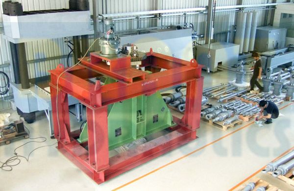 Rotary Cylinder Test Bench