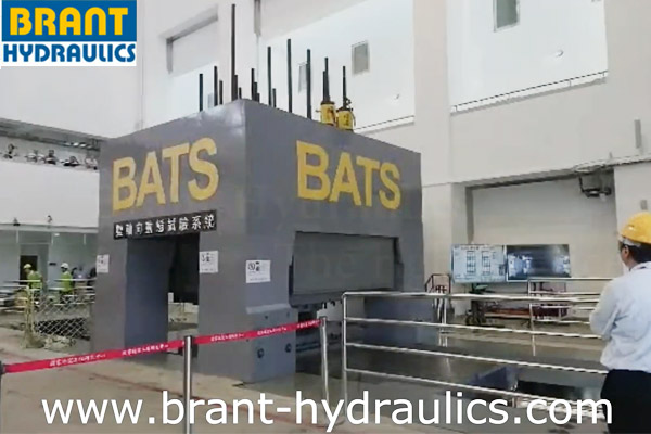 BATS (Bi-Axial Testing System) - Participated by Brant Hydraulics