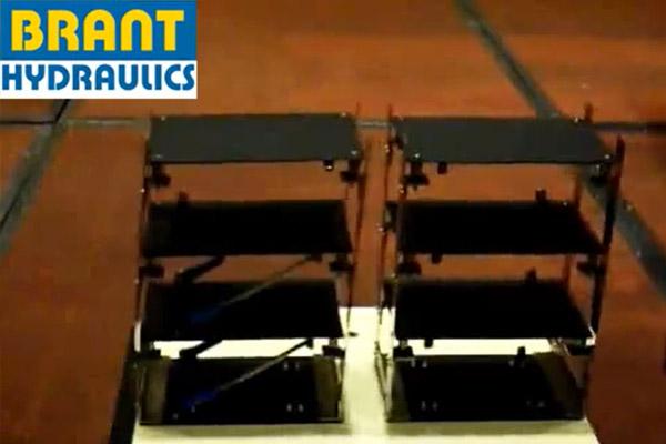 Damper Test - Simulate Building Module