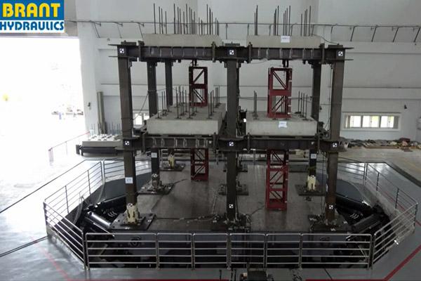 World's Biggest Tri-axial Earthquake Simulator