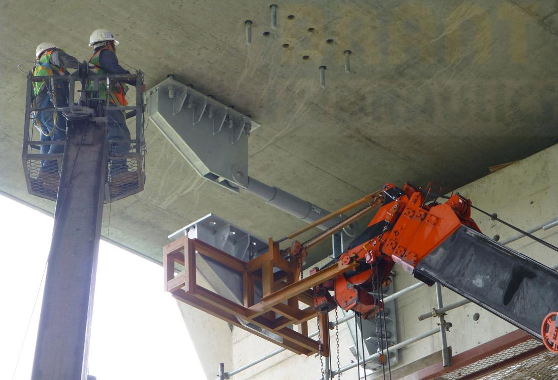 Damper Installation