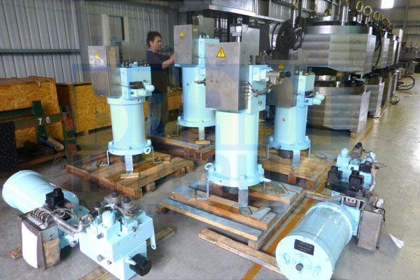 Servo Cylinder for Power Plant