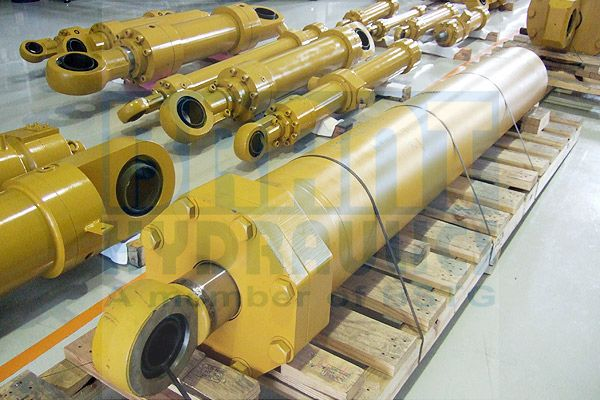 Construction Vehicle and Infrastructure Cylinder