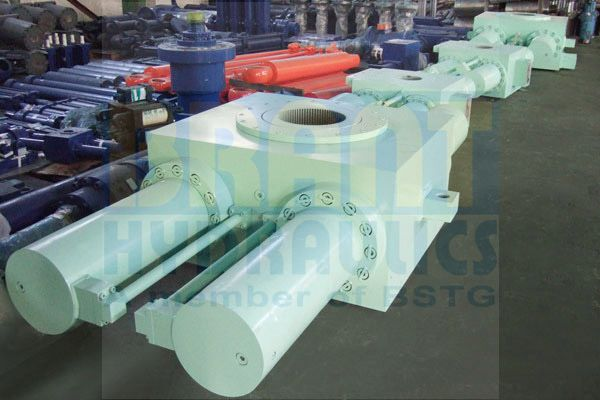 Swivel Rotary Actuator (Rack and Pinion)